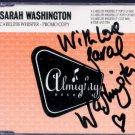 Sarah Washington - Careless Whisper - signed - UK Promo  CD Single