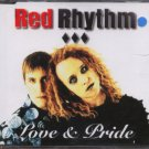 Red Rhythm - Love & Pride - UK  CD Single