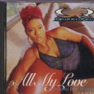 Queen Pen Ft Eric Williams - All My Love - USA  CD Single