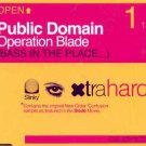 Public Domain - Operation Blade - UK CD Single