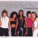 Precious - It's Gonna Be My Way - UK Promo  CD Single