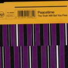 Peacetime - The Truth Will Set You Free - UK  CD Single