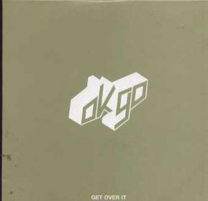 OK go - Get Over It - UK Promo  CD Single