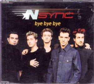Nsync - Bye Bye Bye - UK  CD Single