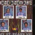 Mini Animals - Get Up, Stand Up - UK  CD Single