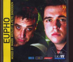 Mark Wesley & Pete Snodden - Eupho - UK Promo  CD Single