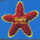 Mario + Presents More - All I Need - UK  CD Single