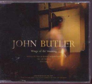 John Butler - Wings Of The Morning - UK Promo  CD Single