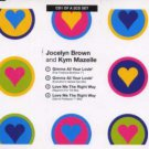 Jocelyn Brown and Kym Mazelle - Gimme All Your Lovin' - UK CD Single