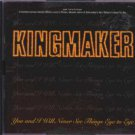 Kingmaker - You And I Will Never See Things Eye To Eye - UK  CD Single