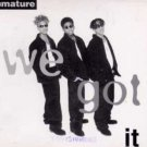 Immature - We Got It - UK Promo CD Single