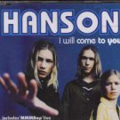 Hanson - I Will Come To You - UK  CD Single
