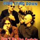 Done Lying Down - Can't Be Too Certain - UK CD Single