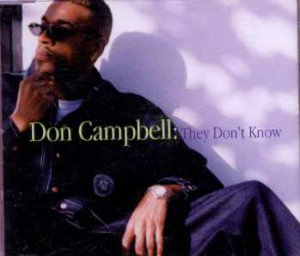 Don Campbell - They Don't Know - UK  CD Single