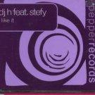 DJ H feat Stefy - I Like It - UK  CD Single