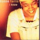 Dionne Farris - I Know - UK Promo CD Single