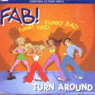 Fab! - Turn Around - UK  CD Single