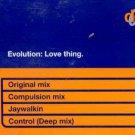 Evolution - Love Thing - UK CD Single