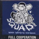 Def Squad - Full Cooperation - USA Promo  CD Single