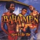 Baha Men - Move It Like This - UK Promo  CD Single