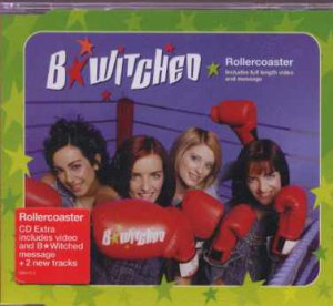 B*Witched - Rollercoaster - UK  CD Single