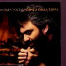 Andrea Bocelli - Canto Della Terra - UK  CD Single
