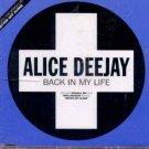 Alice Deejay - Back In My Life - UK CD Single