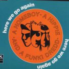 A Homeboy A Hippie And A Funky Dredd - Here We Go Again - UK  CD Single