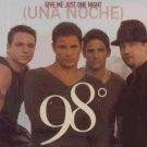 98 Degrees - Give Me Just One Night - UK Promo  CD Single