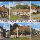 Picturesque Dorset Villages Postcard 1985 Salmon Ltd