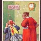 W.B . Series No.665 Comic Postcard 1927