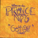 "Prince And The New Power Generation - Gett Off - UK 7"" Single - W0056"