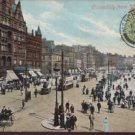 PICCADILLY from W.Manchester 1908 Postcard Valentine Series