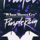 Prince - Shop Display - When Doves Cry - USA   Display -   ex
