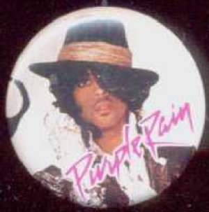 Prince - Badge - Prince wearing hat - USA   Badge -   ex