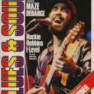 Jesse Johnson,Maze,DeBarge,Tina Turner,I-Level - Blues & Soul April 1985 - UK