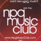Prince - Flyer - NPG Music Club - USA   Flyer -   m