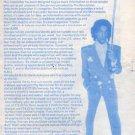 Prince - Flyer - Crystal Ball - UK   Flyer -   vg