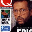 Eric Clapton,Guns N' Roses,Aphex Twin,Therapy? - Q Magazine - March 94 - UK   Ma