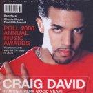 Craig David, Babyface, Chante Moore, David McAlmont - Blues & Soul December 2000