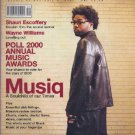 Musiq Soulchild, Shaun Escoffery, Wayne Williams - Blues & Soul January 2001 - U