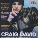 Craig David, Puff Daddy, LTJ Bukem - Blues & Soul April 2000 - UK   Magazine - I