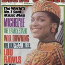Prince,Will Downing,Lou Rawls,Michel'le - Blues & Soul - March 1990 - UK   Magaz