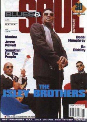 Prince, Monica, Jesse Powell, Bo Diddley - Blues & Soul May 1996 - UK   Magazine