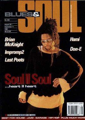 Brian McKnight, Soul II Soul, Don-E, Hami, Impromp2 - Blues & Soul August 1995 -