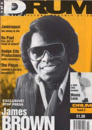 Prince,Monie Love,James Brown,Ru Paul,Jamiroquai - Drum - Issue 1 (1992) - UK