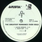"Prince - The Greatest Romance Ever Sold - USA Promo  12"" Single - ARDP3764 m/m"