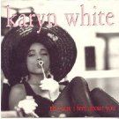 """Karyn White - The Way I Feel About You - UK   12"""" Single - W0073T ex/m"""