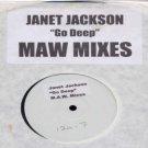 "Janet Jackson - Go Deep - UK Promo  12"" Single - none ex/m"