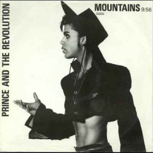 "Prince - Mountains - UK   12"" Single - W8711T vg/ex"